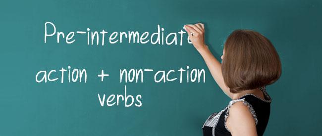 Action - Non Action Verbs