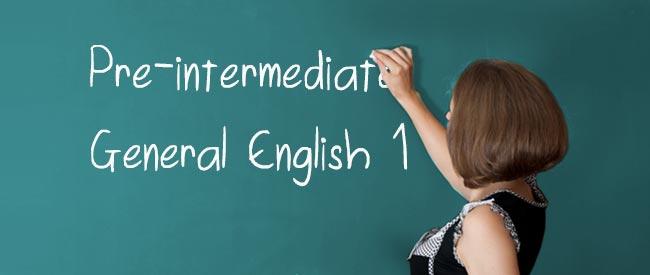 Pre-intermediate - General Language