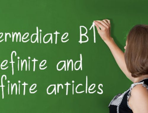 B1 Definite and Indefinite Articles