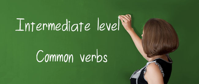 Intermediate - Common Verbs